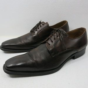 Barneys Leather Dress Oxfords Shoes New York 11.5
